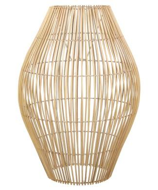 Pantalla para lámpara estilo tropical