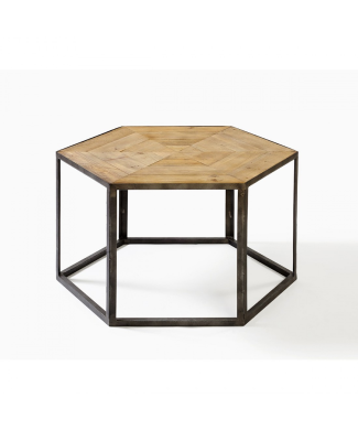 em-624-mesa-hexagonal-madera-y-metal-80x80x45