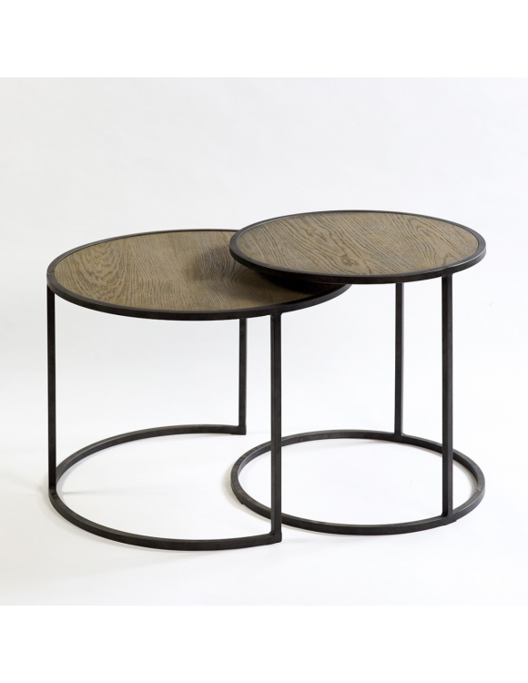phillip-set-de-mesas-redonda-de-metal-y-madera-60x45-50x50