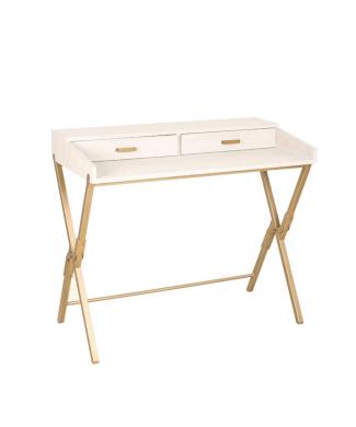 escritorio-blanco-grisaceo-y-metal-dorado