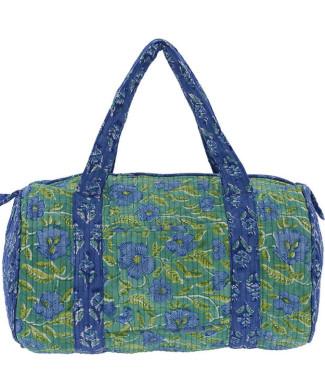 Bolsos-Fin-De-Semana-Bolsa-Pequena-Acolchada-Verde