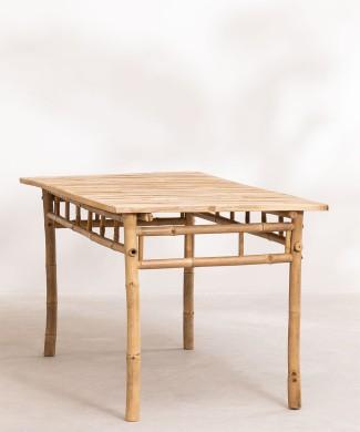 mesa-en-bambu-