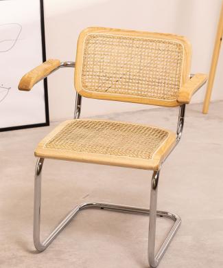 silla madera natural